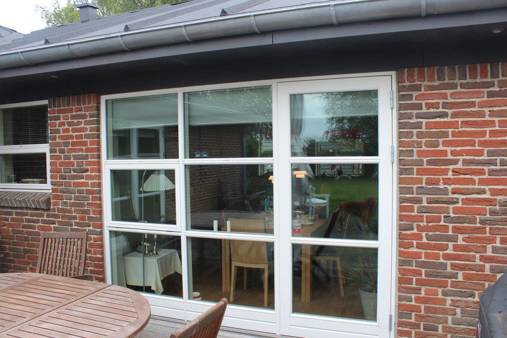 Vindue med havedør pris, skift vinduer Toemre og Snedkerforretning Engdal Byg